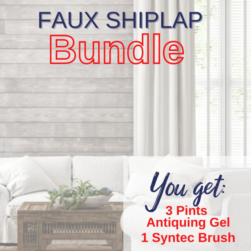 Faux Shiplap Half Off Bundle, Use Code: BUNDLE50 to make price $59.99