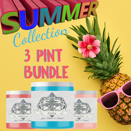 3 Pint Summer Collection Bundle, Heirloom Traditions ALL-IN-ONE Paint