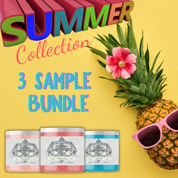 3 Sample Summer Collection Bundle, Heirloom Traditions ALL-IN-ONE Paint