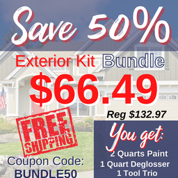 Exterior Kit Half Off Bundle, Limited Quantity Available, FREE Shipping!