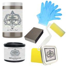 Bond-N-Flex Kit (leather/vinyl repair), Heirloom Traditions All-In-One Paint