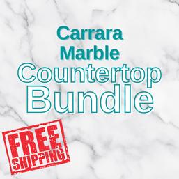 Carrara Marble Countertop Bundle