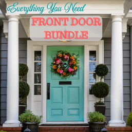 Front Door Bundle, Everything You need! Choose Your Color, (16oz paint, 16oz deglosser, tool trio)