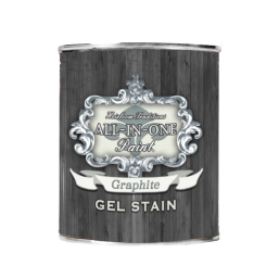Gel Wood Stain, ALL-IN-ONE, Color:  Graphite
